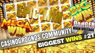 CasinoGrounds Community Biggest Wins #21