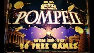 Pompeii Slot Bonuses at 5-Cent Denomination at Pechanga Resort and Casino