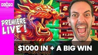 •PREMIERE LIVE with $1000 at the Casino •BCSlots