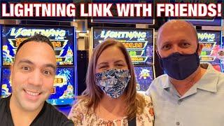 ⋆ Slots ⋆️ LIGHTNING LINK WITH FRIENDS at HARD ROCK SACRAMENTO!!  How big was the profit?! ⋆ Slots ⋆