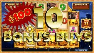 10 BONUS BUYS! What Will a LEGENDARY WIN PAYOUT ?