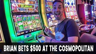 • Brian bets $500 on Cosmo • with JASON Eeeeee!!!