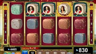 Royal Gardens slot - 990 win!