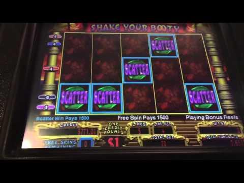 shake your booty slot machine online