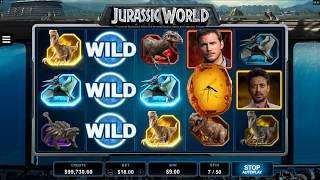 Jurassic World• Slot Features & Game Play - by Microgaming