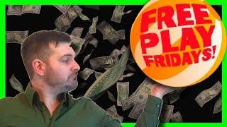 Let's Turn FREE PLAY Into Some BIG MONEY on Wheel O Rama SLOT MACHINE With SDGuy1234