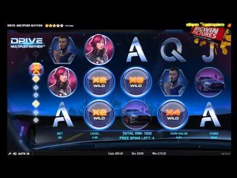 Drive - Multiplier Mayhem BIG WIN!