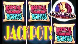 • JACKPOT DIAMOND QUEEN • Live Play HIGH LIMIT • Max Bet 5 Treasures