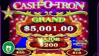•️ New - The Cash-O-Tron slot machine, nice bonus