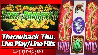 Game of Dragons II Slot - TBT Live Play and Line Hits