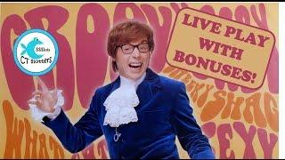 Austin Powers Slot Machine - Fun Live Play with Bonus and Features!