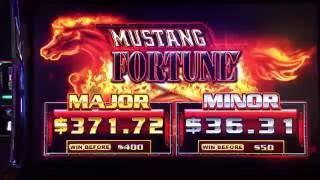 NEW Mustang Fortune Slot Bonus - Ainsworth