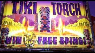 TIKI TORCH | Aristocrat - BIG WIN! Slot Bonus Feature