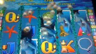 magic mermaid  slot machine  line hit!