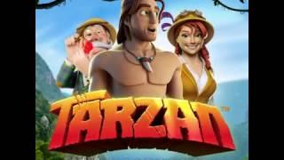 Tarzan Online and Mobile Slot game mini promo video