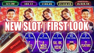 •NEW SLOT• FIRST LOOK! REEL RICHES HIGH CLASS SLOT MACHINE LIVE PLAY PROGRESSIVES AND BONUS FEATURES