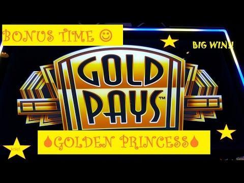 *BIG WIN* Gold Pays GOLDEN PRINCESS | ( Mystery Choice) Slot Machine Bonus