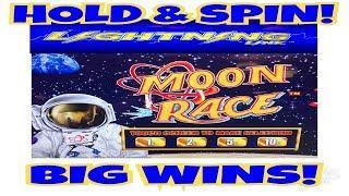 **LIGHTNING LINK MOON RACE** HOLD & SPIN | BIG WINS!
