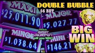 •NEW GAME!• DOUBLE BUBBLE slot machine live play BUFFALO GOLD slot machine MEGA BIG WIN and more!