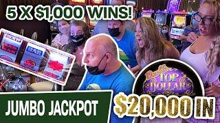 5️⃣ FIVE x $1,000+ WINS at Cosmo LAS VEGAS ⋆ Slots ⋆ $100 Spins on Double Top Dollar Group Pull