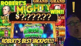 JACKPOT HANDPAY- MIGHTY CASH-ROBERT'S BEST WIN!