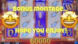 • Max Bet Bonus Montage • Aladdin's Fortune Gold Stacks Willy Wonka Casino Pokies
