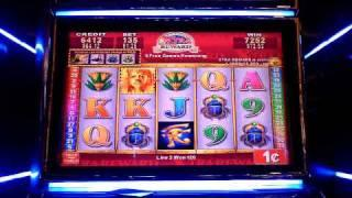 Egyptian Eyes extra reward slot machine bonus