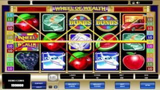 Free Wheel of Wealth Slot by Microgaming Video Preview | HEX