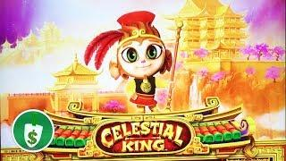 Celestial King slot machine, sample spins & rules