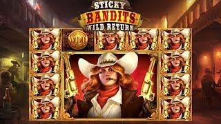 Sticky Bandits Wild Return Online Slot from Quickspin