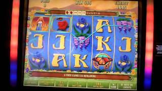 Green Goddess, Atronic, slot machine bonus win the Borgata
