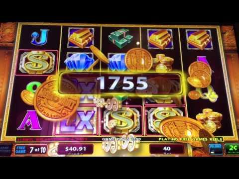 IGT * MEGA VAULT * 2 Cent Slot Machine Free Spins Bonus!