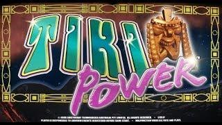 Aristocrat Technologies: Reel Power - Tiki Power Slot Bonus WIN
