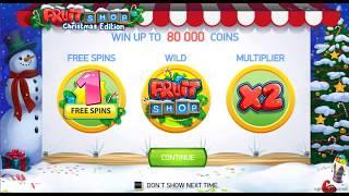 Fruit Shop - Christmas Edition Online Slot from NetEnt
