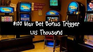 $100 Max Bet Bonus Trigger 1,115 Thousand Nice Little Win Enchanted Unicorn, Ladybug Jackpot Handpay