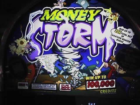 Money Storm * 5 cents  machine * $10 max bet ** SLOT LOVER **