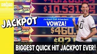 • My BIGGEST Quick Hit Jackpot EVER! • A Wild Party! • BCSlots (S. 25 • Ep. 2)