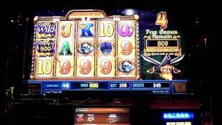 Goldbeards Treasure slot machine bonus win