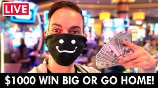 ★ Slots ★ LIVE ★ Slots ★ $1000 WIN BIG or Go Home!! ★ Slots ★ Gila River Hotel & Casino Wild Horse P