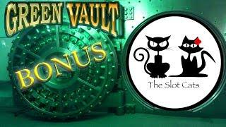 South Point •  Triple Crystal Sevens ⑦⑦⑦ Green Vault • The Slot Cats •