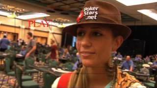 Vanessa Rousso LadyMaverick- PCA 09: Vanessa's Vblog Jan 5th 2009  PokerStars.com