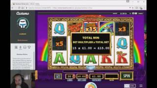 Slots With Craig - 1000 Subscribers!!! (Captain Venture, Steamtower, Fruit Warp, Rainbow Riches) • C