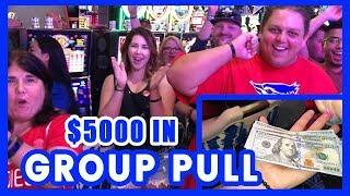 ••2 x $5,000 Group Slot Pull•Ultimate FIRE Link•Liberty Link•Cosmo LAS VEGAS • BCSlots