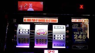 Diamond Deluxe Solitare slot machine bonus win at Parx