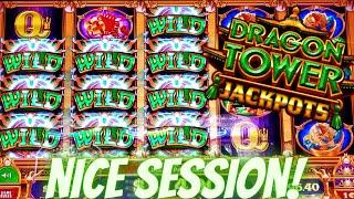 Dragon Tower Jackpots Slot Machine Max Bet | MONEY STORM Deluxe Slot Machine BIG WIN !