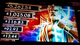 """Zeus Son of Kronos"" *Bonus* with ^Zeus re spins^"