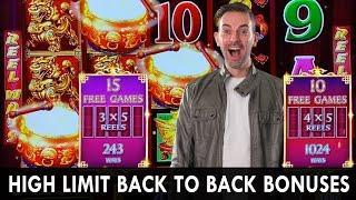 ★ Slots ★ HIGH LIMIT Back to Back BONUSES ★ Slots ★ NEW Ultimate Fire Link ★ Slots ★ Big Bets @ Cosm