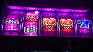 Hot Hearts Slot Machine ~ SWEET HEARTS BONUS ~ $3 PER HEART ~ BIG WIN! • DJ BIZICK'S SLOT CHANNEL