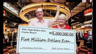 •$5 Million Dollar Jackpot Handpay• Vegas High Roller Casino Video Slot Machine Aristocrat, WMS • Si