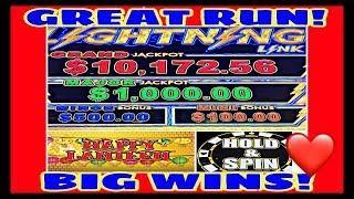 LIGHTNING LINK HAPPY LANTERN * CHASING THE MAJOR! GREAT RUN! * BIG WINS! GREAT RESULT!!!